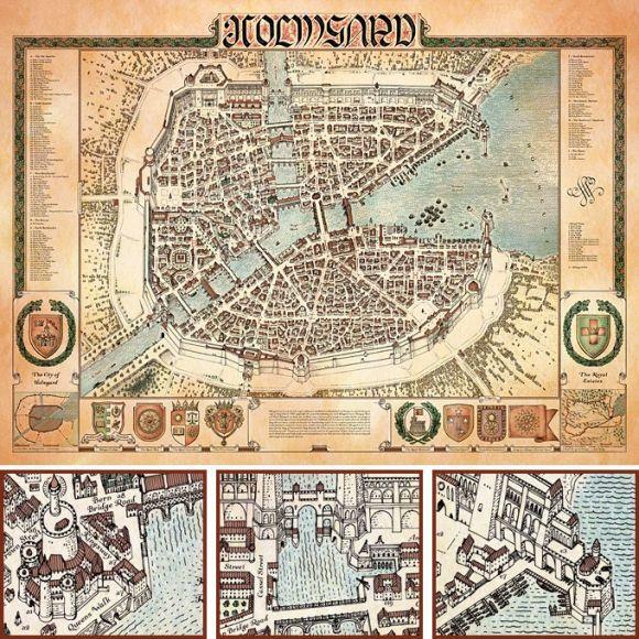 sommerlund city maps