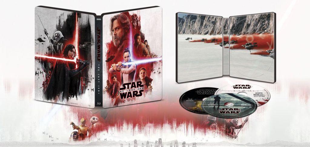 home video di Star Wars: Gli Ultimi Jedi