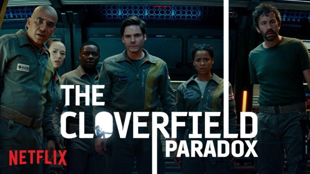 the cloverfield paradox cover