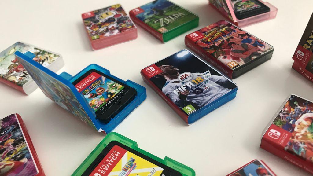 custodie dei giochi per Nintendo Switch