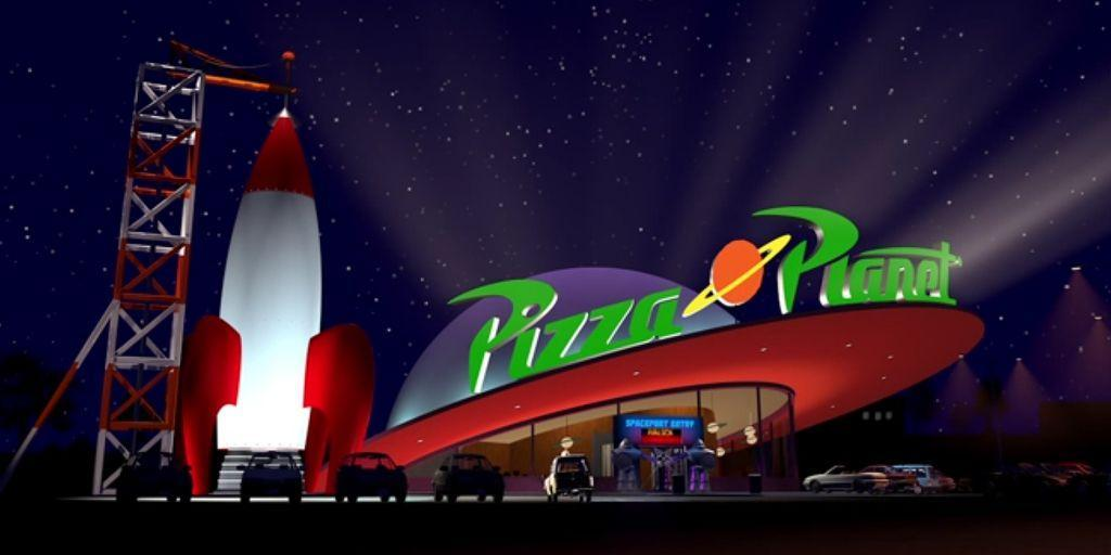 Pizza Planet di Toy Story