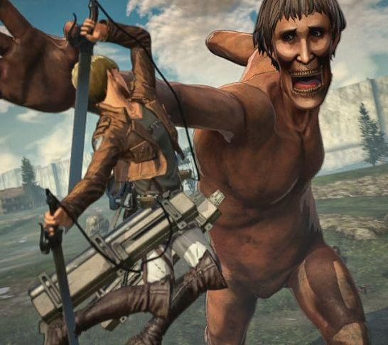 attack on titan 2 gameplay