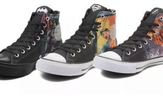 Converse All Star DC e Marvel