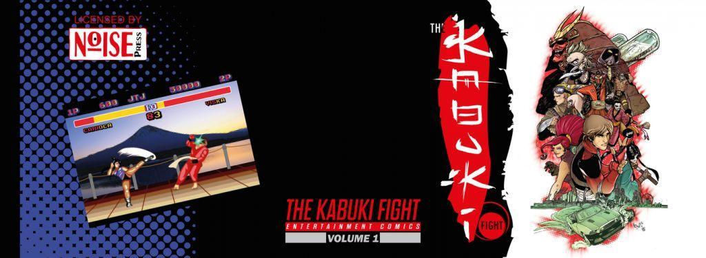 the kabuki fight - alpha cover