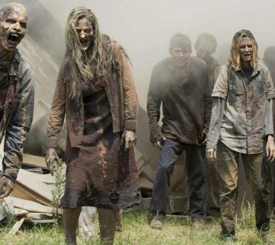 the walking dead zombi