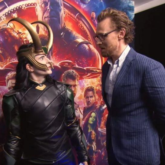 Cosplayer di Loki Tom Hiddleston