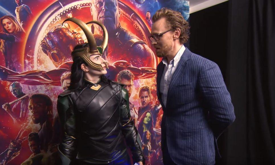 Cosplayer di Loki Tom Hiddleston