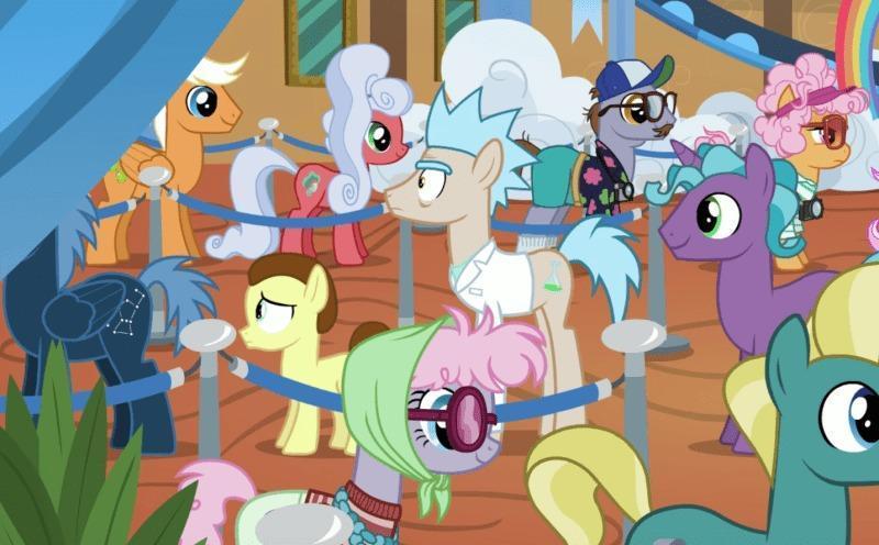 Rick e Morty My Little Pony