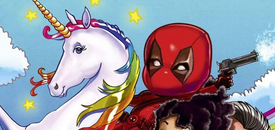 Deadpool 2 unicorno