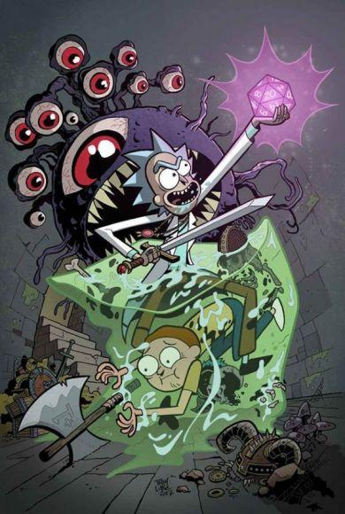 Rick e Morty crossover dnd