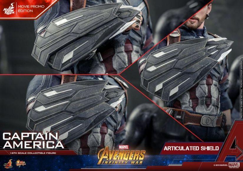 avengers infinity war captain america action figure hot toys