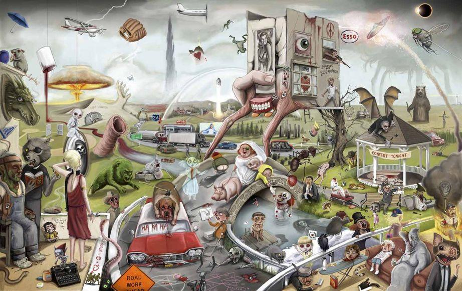 Poster king Country omaggio opere di Stephen King