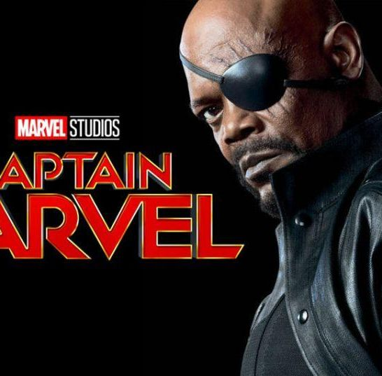 Nick Fury - Captain Marvel