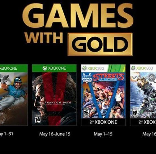 Games with Gold maggio 2018