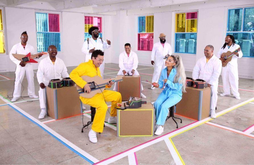 Ariana Grande Nintendo Labo