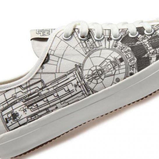 il Millennium Falcon ha le sue sneakers