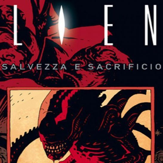 aliens salvezza e sacrificio cover