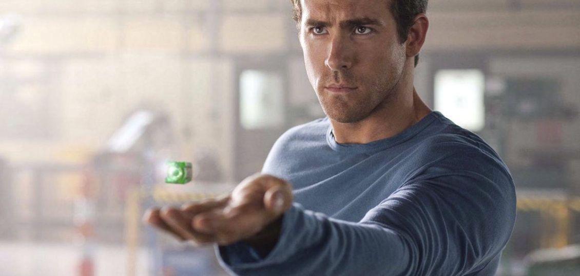ryan reynolds anello di lanterna verde