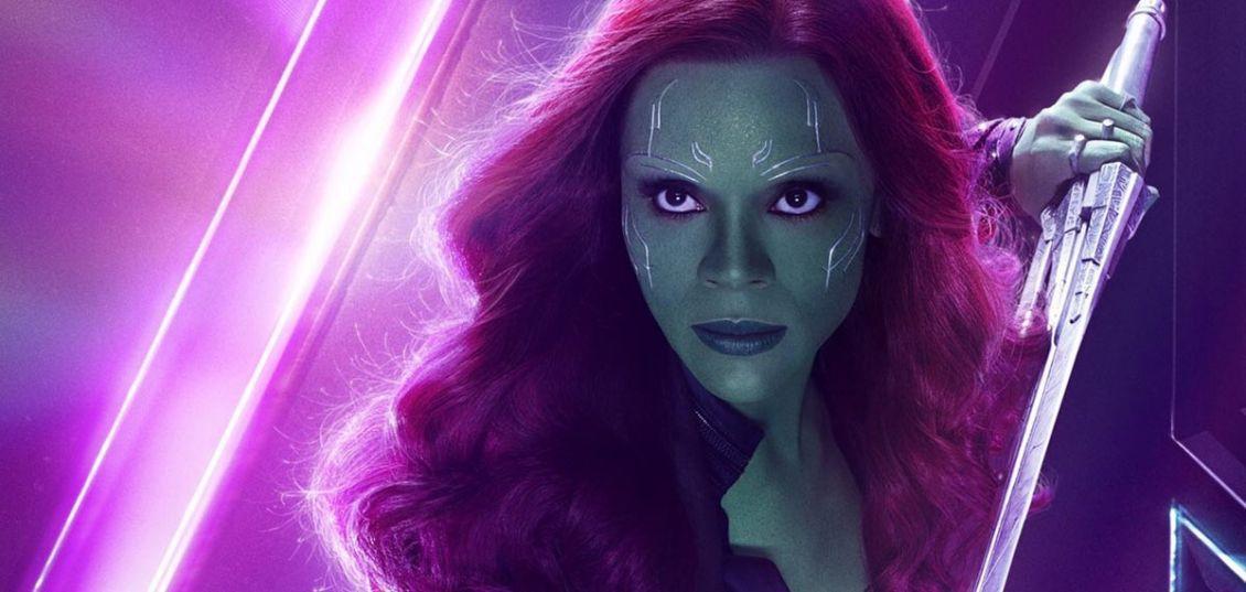 Zoe Saldana Gamora
