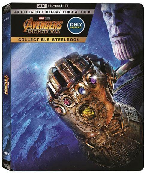 steelbook di Avengers: Infinty War