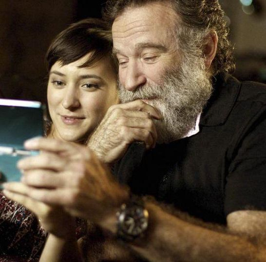 Zelda figlia di Robin Williams