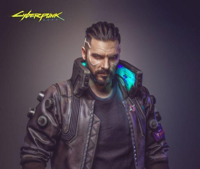 Cosplay di Cyberpunk 2077