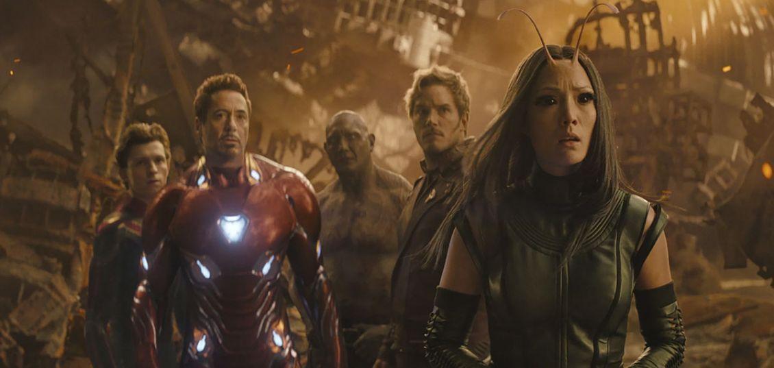 Avengers: Infinity War 100 volte