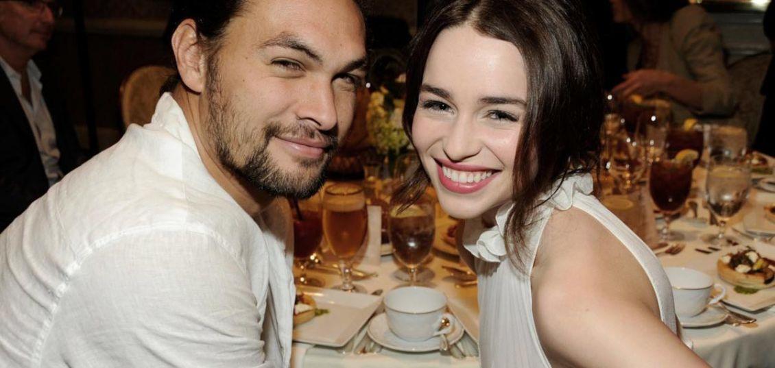 Emilia clarke jason momoa