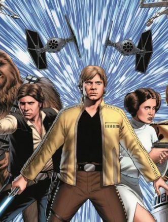 le avventure di luke skywalker cover1