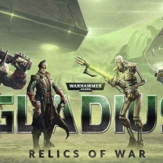 warhammer 40000 gladius relics of war cover