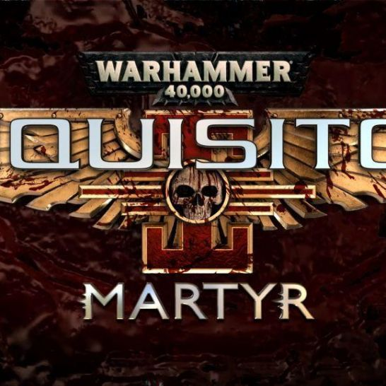 warhammer 40000 inquisitor martyr cover