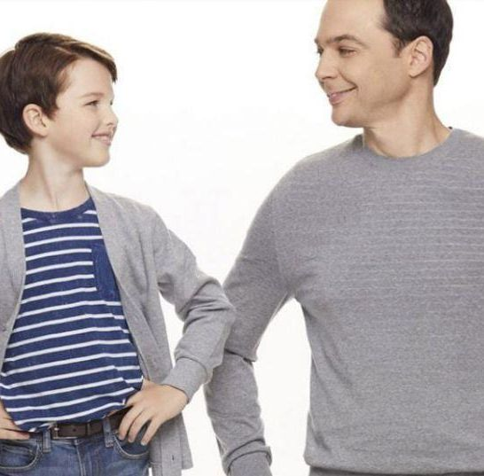 young sheldon e sheldon
