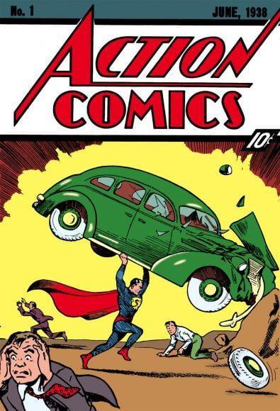 10 fumetti più rari e costosi del mondo action comics 1