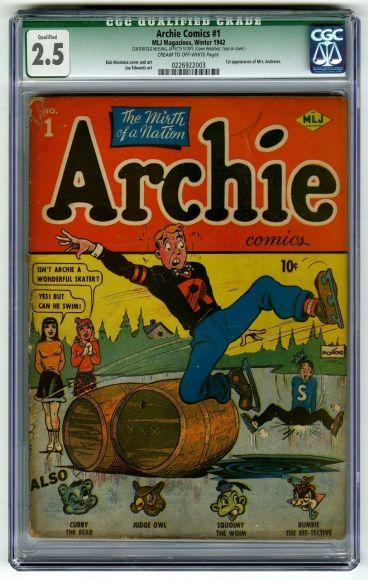10 fumetti più rari e costosi del mondo archie comics 1