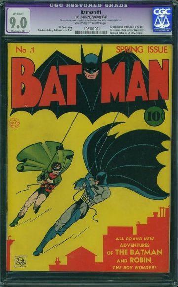 10 fumetti più rari e costosi del mondo batman 1
