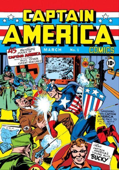 10 fumetti più rari e costosi del mondo captain america 1