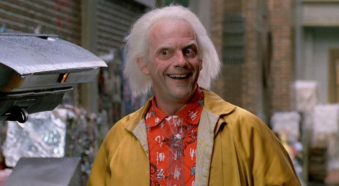 Christopher Lloyd Ritorno al Futuro Doc Brown