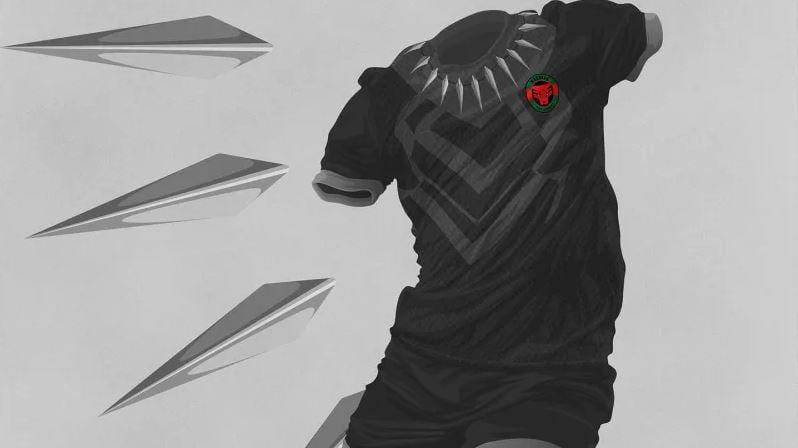 Divisa nazionale calcio Wakanda