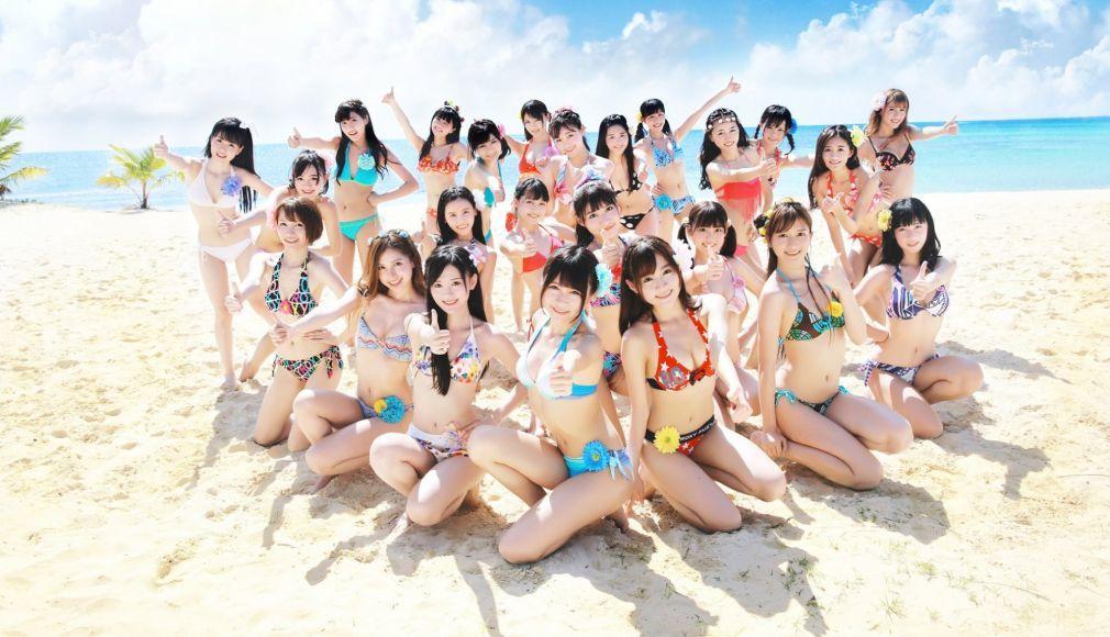 Giappone Ragazze Spiaggia Bikini