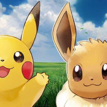 Pokemon Let's Go Pikachu Eevee