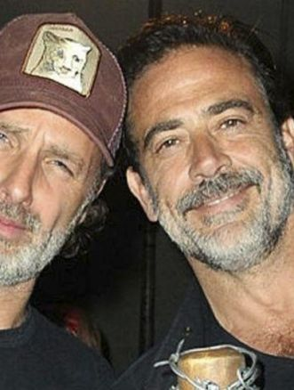 andrew lincoln e Jeffrey Dean Morgan