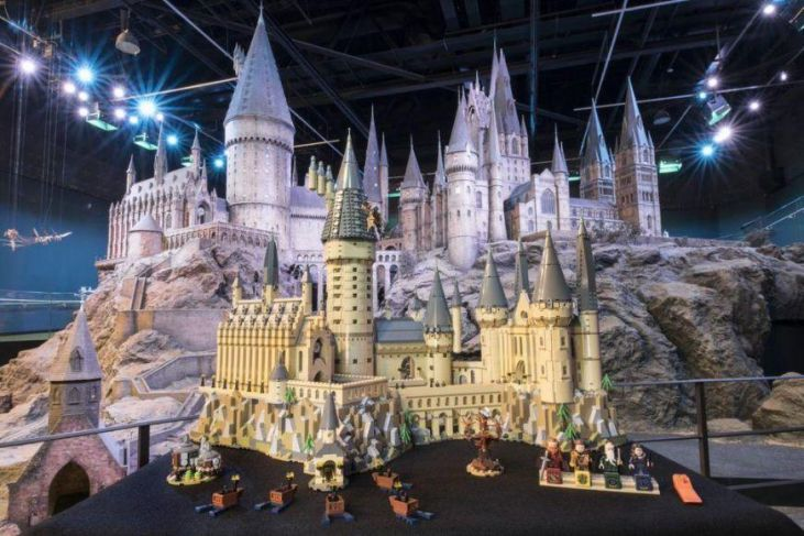 set LEGO di Harry Potter del Castello di Hogwarts