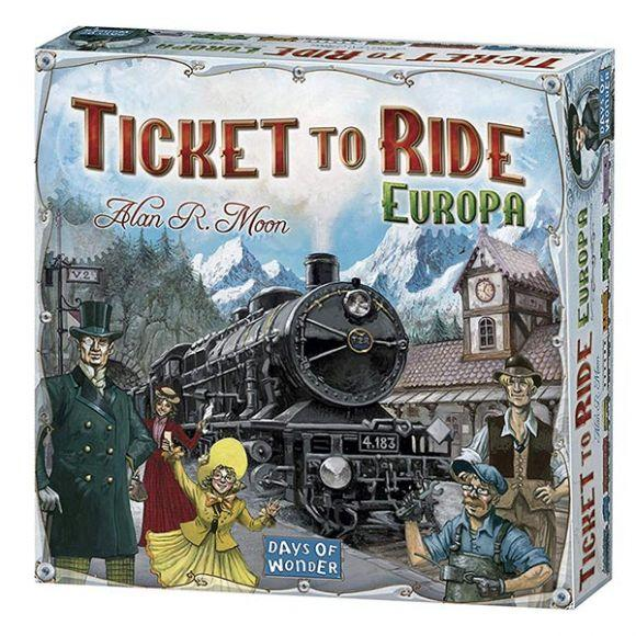 Ticket To Ride Europa – Edizione Italiana