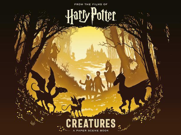 Harry Potter Creatures A Paper Scene Book