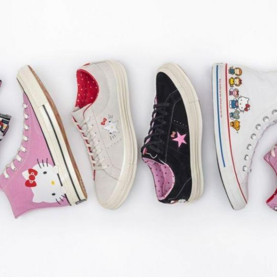 Hello Kitty e Converse