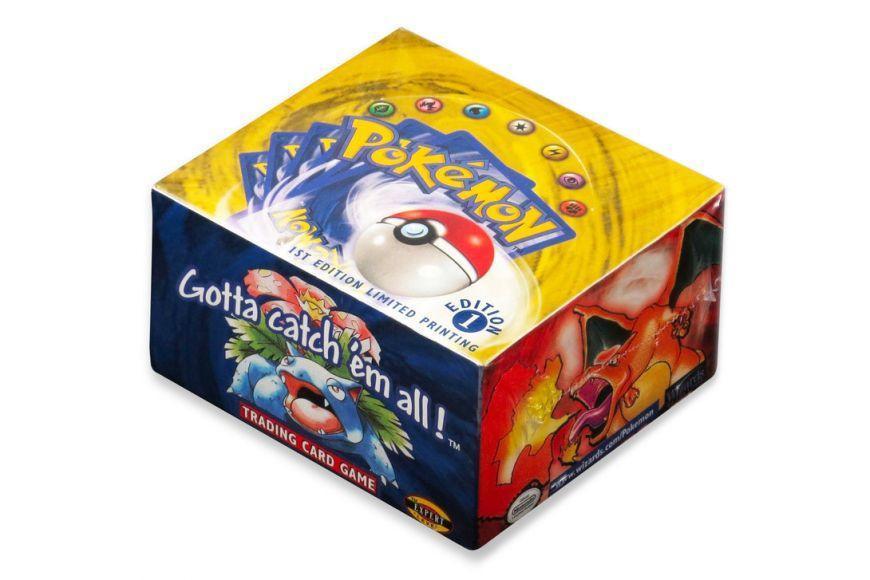scatola sigillata di carte dei Pokémon