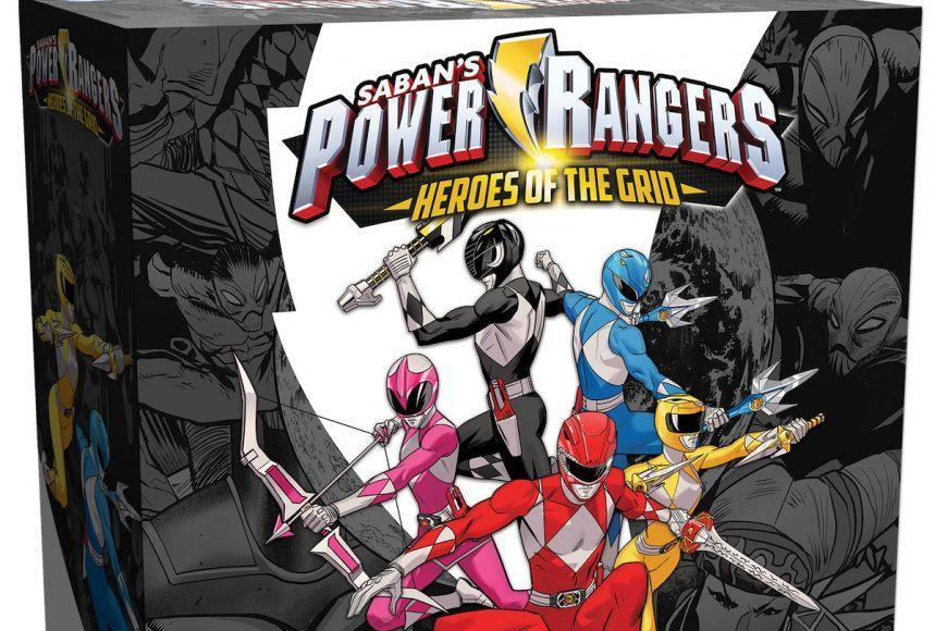 giochi più attesi del GenCon Power Rangers: Heroes of the Grid