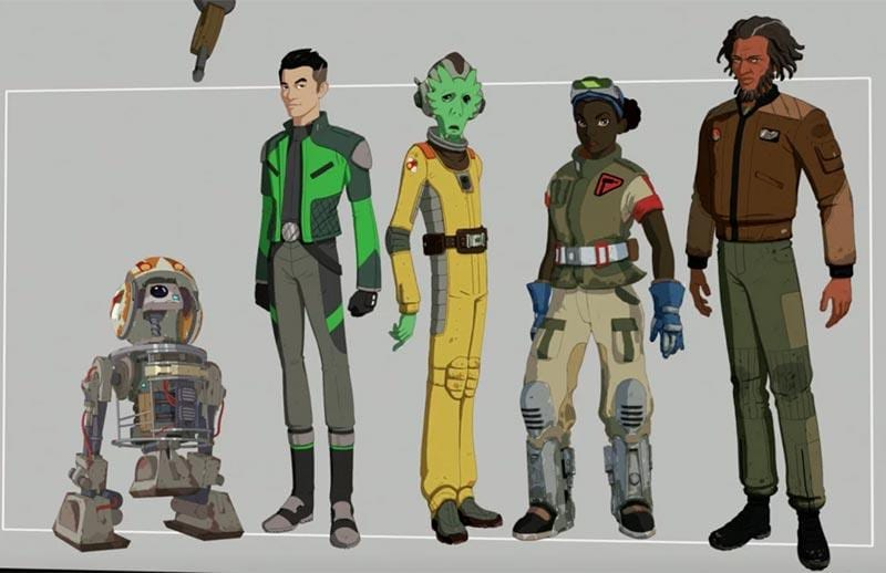 team fireball star wars resistance