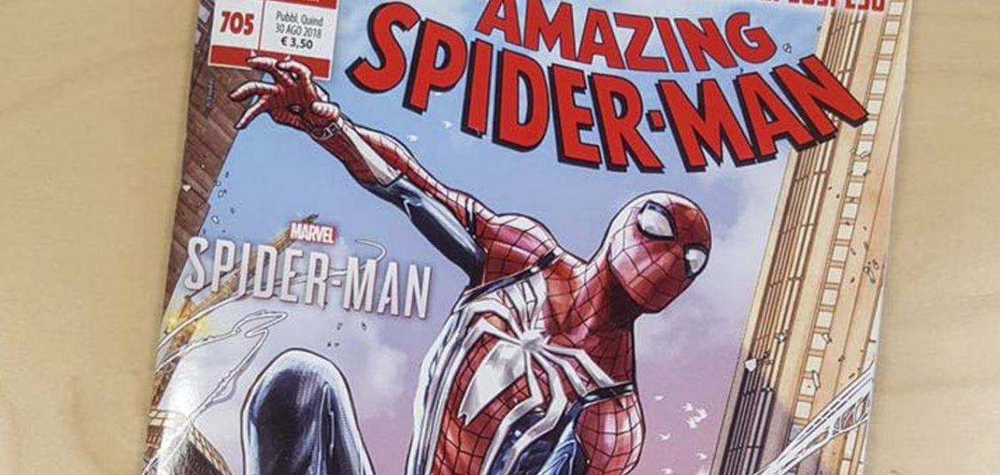 amazing spider-man 705 panini