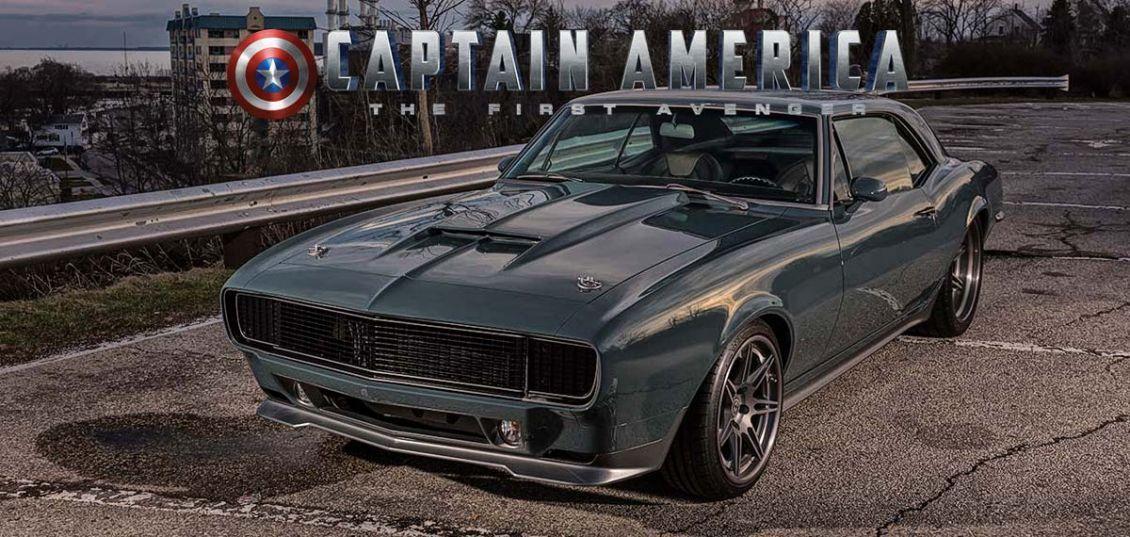 Camaro di Captain America